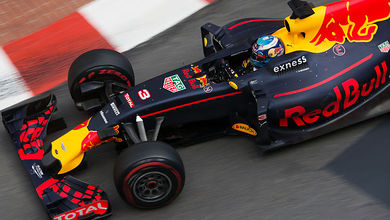 Red Bull in a strong position on a power track