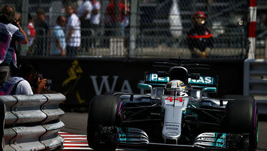 Hamilton heads Vettel in first practice at Monaco
