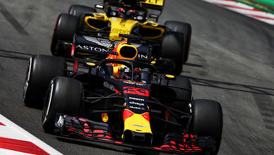 Verstappen tops first day of testing in Spain
