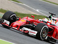 Vettel fastest on first test day at Barcelona